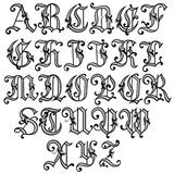 Imprimer le coloriage : Alphabet, numéro 756170