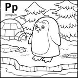 Imprimer le coloriage : Alphabet, numéro 772b79f2