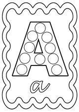 Imprimer le coloriage : Alphabet, numéro 7d271971
