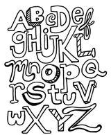 Imprimer le coloriage : Alphabet, numéro 860006b8