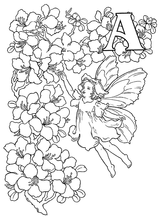 Imprimer le coloriage : Lettre a, numéro 52612