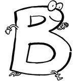 Imprimer le coloriage : Lettre b numéro 125017