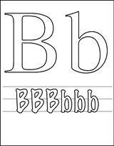Imprimer le coloriage : Lettre b, numéro 398039