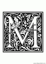 Imprimer le coloriage : Lettre b, numéro 52581