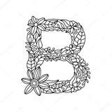 Imprimer le coloriage : Lettre b, numéro b4911f73