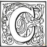 Imprimer le coloriage : Lettre c, numéro 2853d7f3
