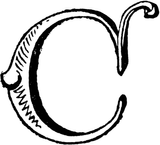 Imprimer le coloriage : Lettre c, numéro f47921a9