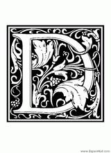 Imprimer le coloriage : Lettre d, numéro 125044