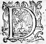 Imprimer le coloriage : Lettre d, numéro 186103