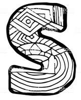 Imprimer le coloriage : Lettre d, numéro d440b9b