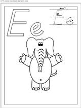 Imprimer le coloriage : Lettre e, numéro 66801
