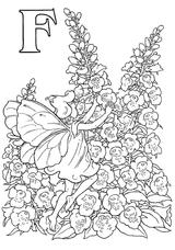 Imprimer le coloriage : Lettre f, numéro 52815