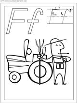 Imprimer le coloriage : Lettre f, numéro 66821