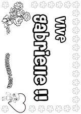 Imprimer le coloriage : Lettre g, numéro 125080