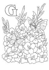 Imprimer le coloriage : Lettre g, numéro 284025