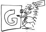 Imprimer le coloriage : Lettre g, numéro 66835