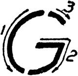 Imprimer le coloriage : Lettre g, numéro 66845