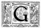 Imprimer le coloriage : Lettre g, numéro 756183