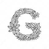 Imprimer le coloriage : Lettre g, numéro f34c4ebd