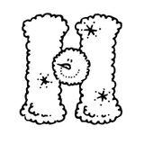 Imprimer le coloriage : Lettre h, numéro 52518