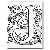 Imprimer le coloriage : Lettre j numéro 192780