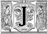Imprimer le coloriage : Lettre j, numéro 604691