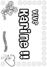 Imprimer le coloriage : Lettre k, numéro 125127