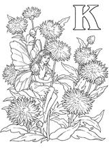 Imprimer le coloriage : Lettre k, numéro 253794