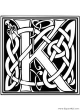 Imprimer le coloriage : Lettre k, numéro 550211