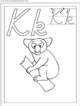 Imprimer le coloriage : Lettre k, numéro 66924