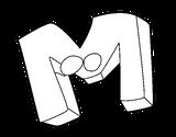 Imprimer le coloriage : Lettre m, numéro 84156