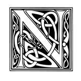 Imprimer le coloriage : Lettre n, numéro 125168