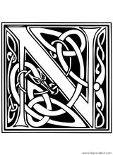 Imprimer le coloriage : Lettre n, numéro 173999