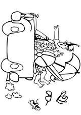 Imprimer le coloriage : Lettre p, numéro 52650