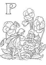 Imprimer le coloriage : Lettre p, numéro 67038