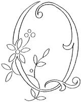 Imprimer le coloriage : Lettre q, numéro 148167