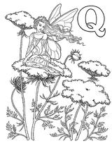Imprimer le coloriage : Lettre q, numéro 52654