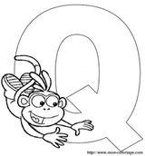 Imprimer le coloriage : Lettre q, numéro 67060