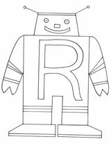Imprimer le coloriage : Lettre r, numéro 268435