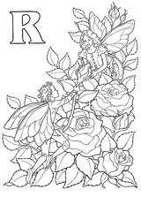 Imprimer le coloriage : Lettre r, numéro 52661