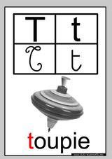 Imprimer le coloriage : Lettre t, numéro 398055