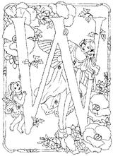 Imprimer le coloriage : Lettre w, numéro 200326