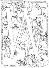 Imprimer le coloriage : Chiffres-et-formes - Alphabet - Lettre-w numéro 52722