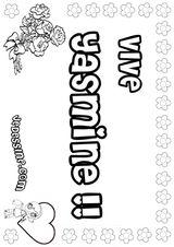 Imprimer le coloriage : Lettre y, numéro 125290