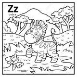 Imprimer le coloriage : Lettre z, numéro 3ba747cc