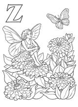 Imprimer le coloriage : Lettre z, numéro 52743