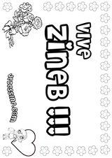 Imprimer le coloriage : Lettre z, numéro 67240