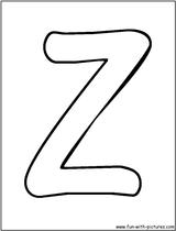 Imprimer le coloriage : Lettre z, numéro 756223