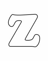 Imprimer le coloriage : Lettre z, numéro 756226