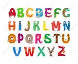 Imprimer le dessin en couleurs : Alphabet, numéro a07aa0ee